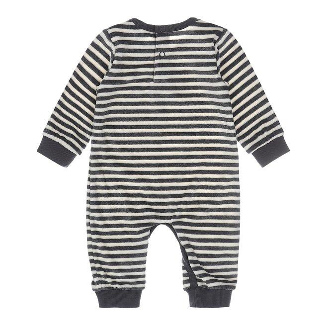 Dirkje boys baby playsuit stripe