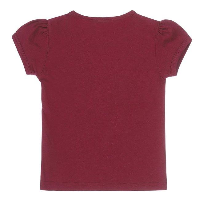 Dirkje meisjes T-shirt cassis
