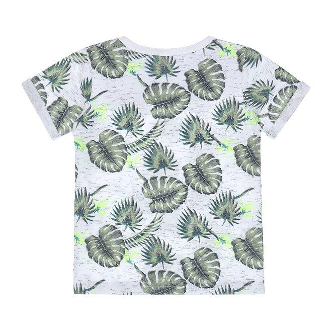 Dirkje boys T-shirt white green