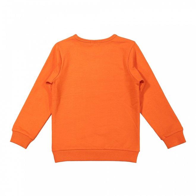 Dirkje Jungen Pullover orange