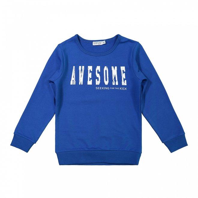 Dirkje jongens sweater kobalt