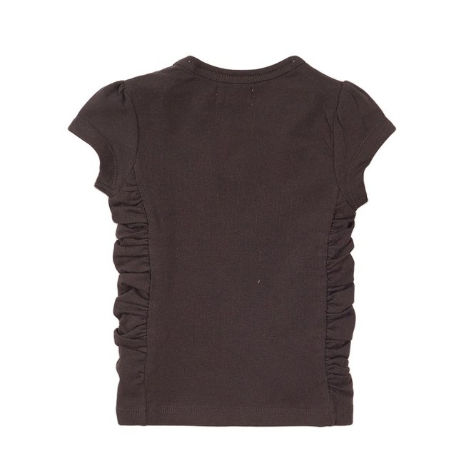 Dirkje girls T-shirt dark grey