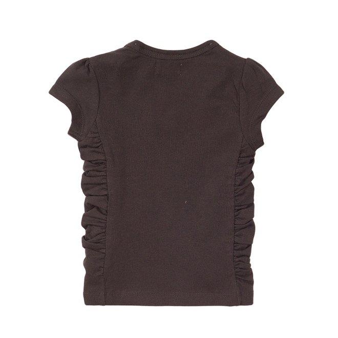 Dirkje meisjes T-shirt donker grijs