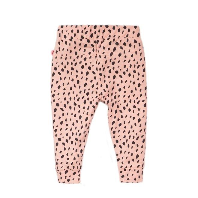 Dirkje meisjes broek roze stip