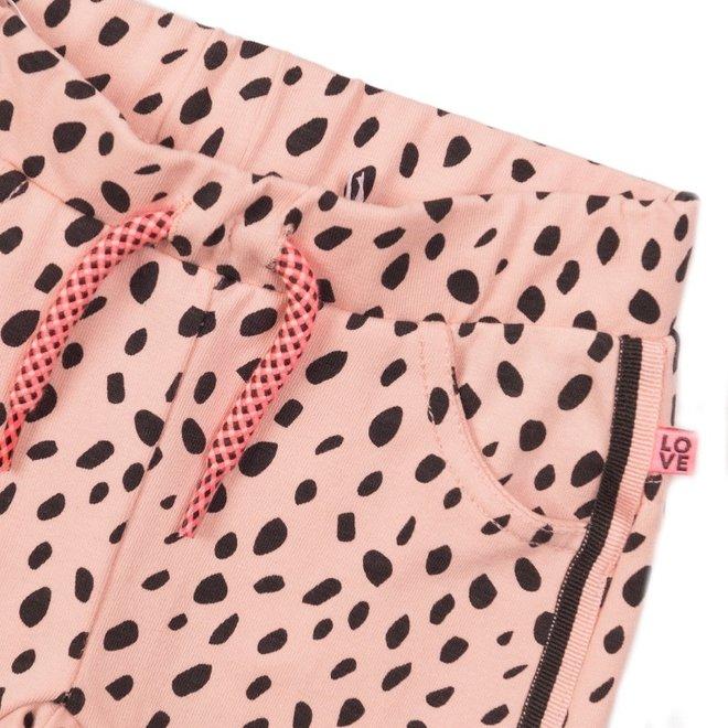 Dirkje girls trousers pink dot