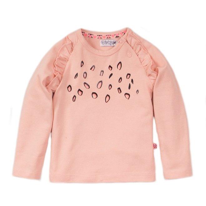 Dirkje girls shirt pink