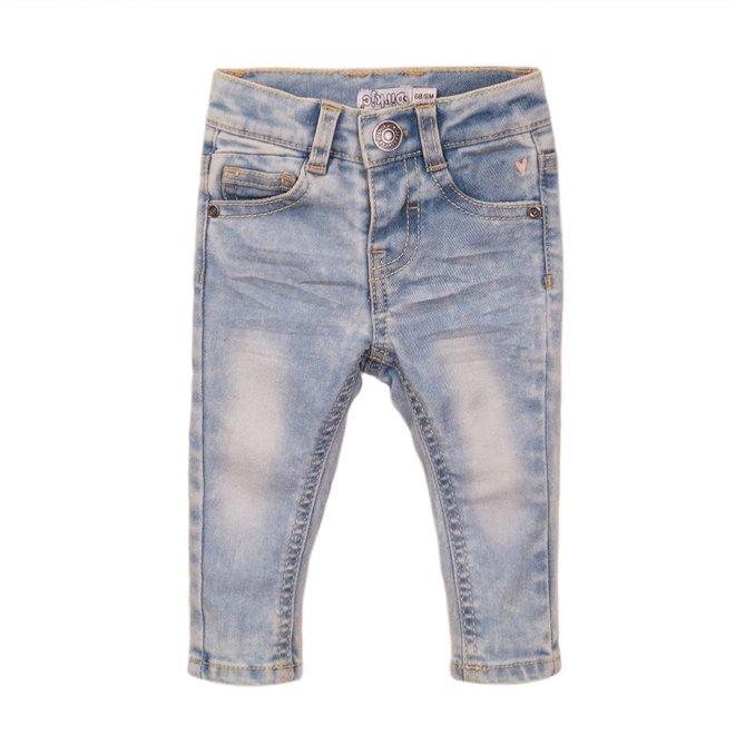Dirkje girls jeans light blue