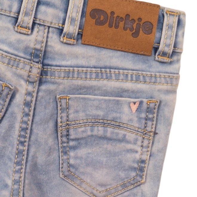 Dirkje meisjes jeans licht blauw
