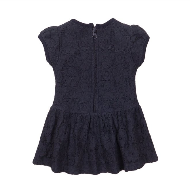Dirkje girls dress blue lace