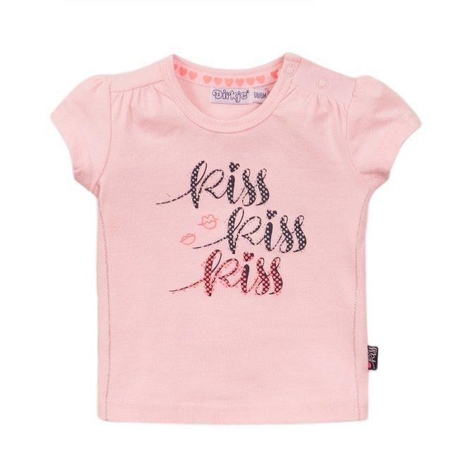 Dirkje meisjes T-shirt roze