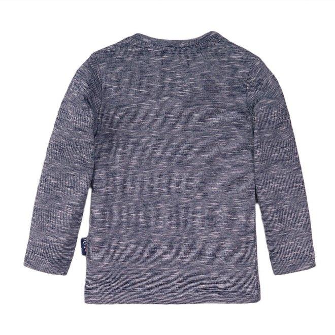 Dirkje meisjes shirt blauw melee
