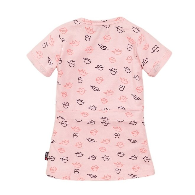 Dirkje Mädchen Kleid rosa Kuss