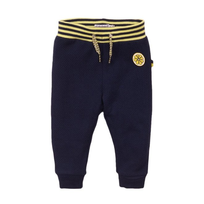 Dirkje meisjes broek blauw geel