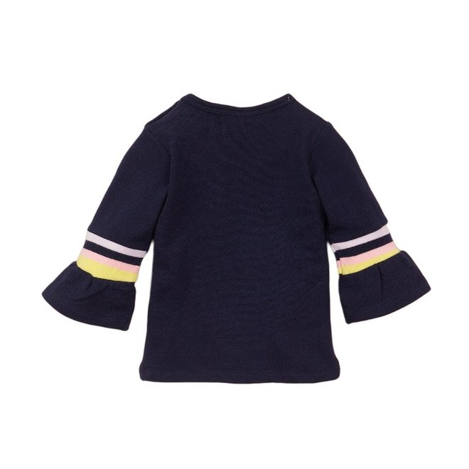Dirkje Mädchen Shirt blau Sonne