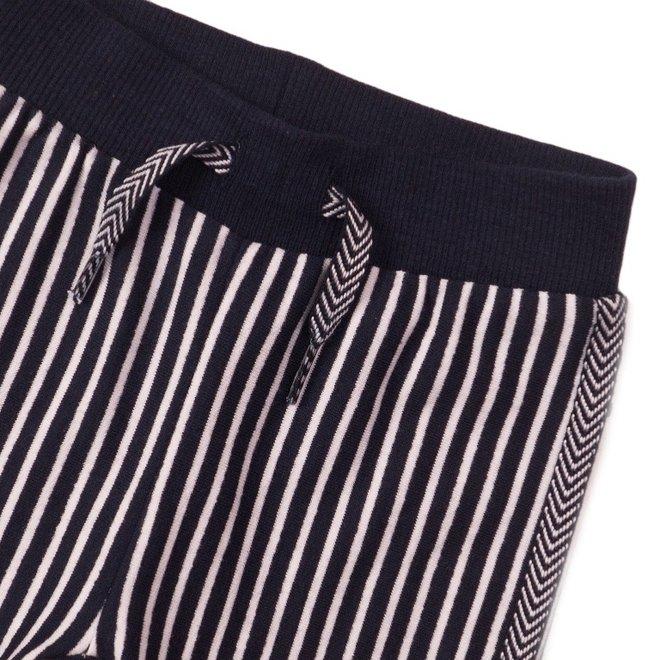 Dirkje girls trousers blue stripe
