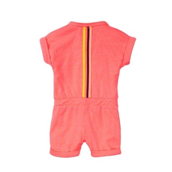 Dirkje Mädchen Baby Jumpsuit neon pink