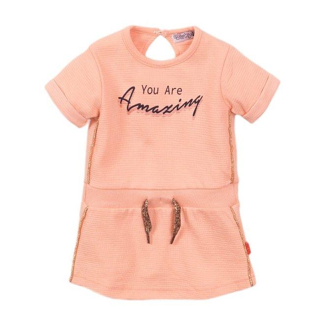 Dirkje meisjes jurk roze