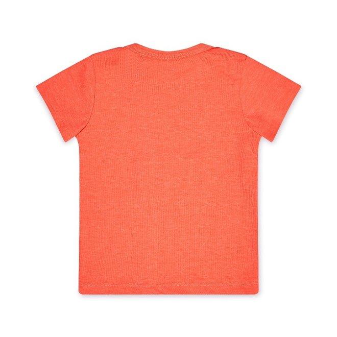 Dirkje meisjes T-shirt neon roze