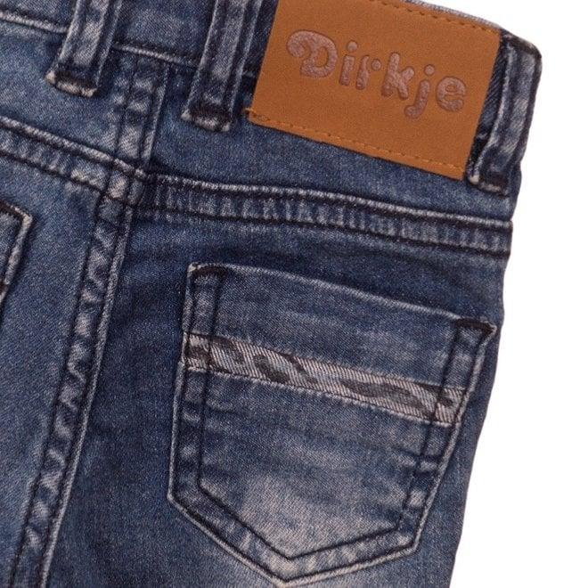 Dirkje Mädchen Jeans blau