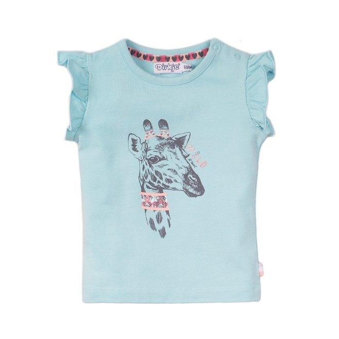 Dirkje girls T-shirt light blue
