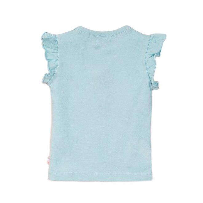 Dirkje meisjes T-shirt licht blauw