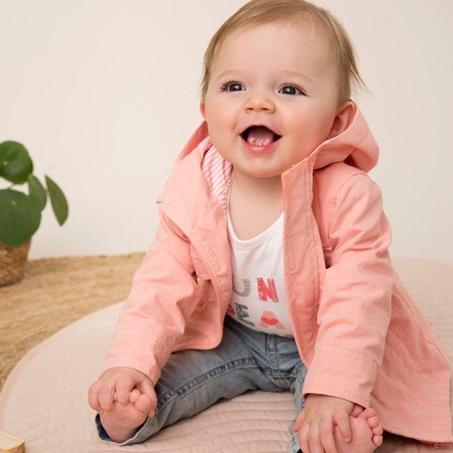 Dirkje Mädchen Jacke rosa