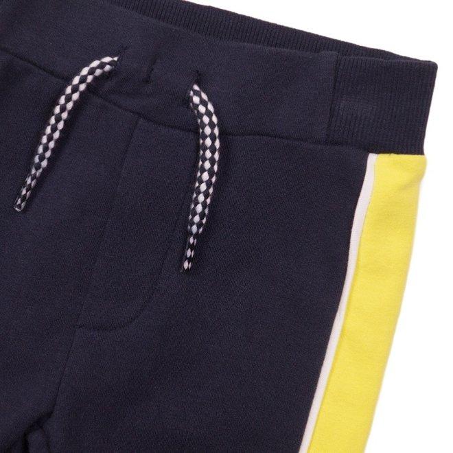 Dirkje boys jogging trousers blue yellow