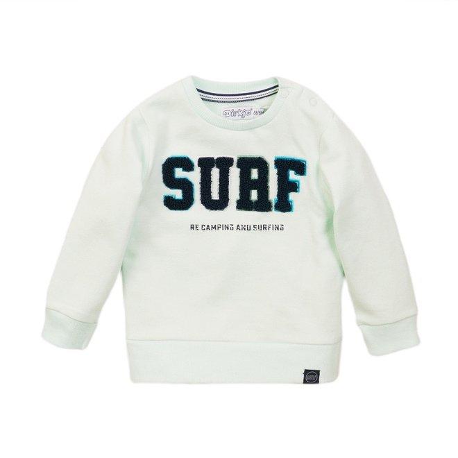 Dirkje jongens sweater licht aqua