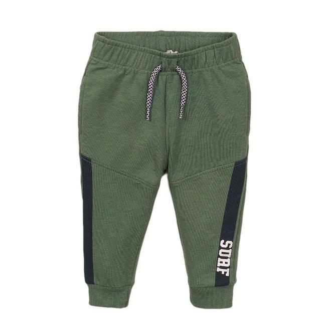 Dirkje boys jogging trousers faded green
