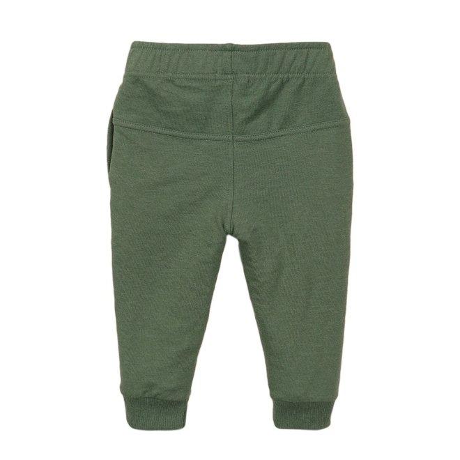 Dirkje jongens joggingbroek faded groen