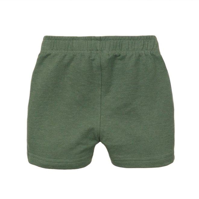 Dirkje jongens short faded groen