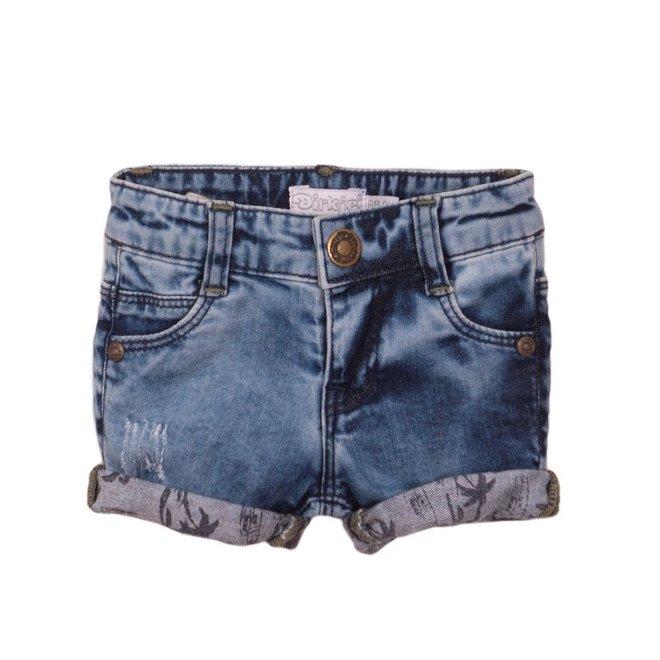 Dirkje jongens jeans short blue