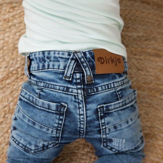 Dirkje Jungen Jeans mittelblau