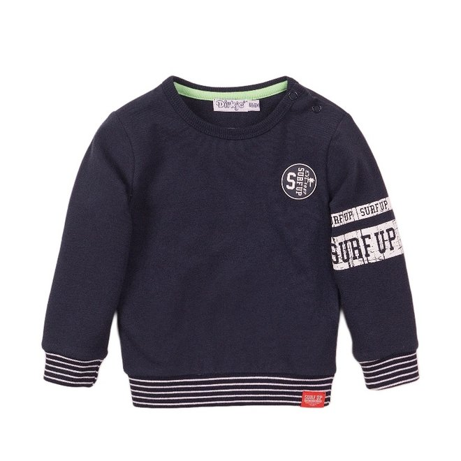 Dirkje jongens sweater donkerblauw