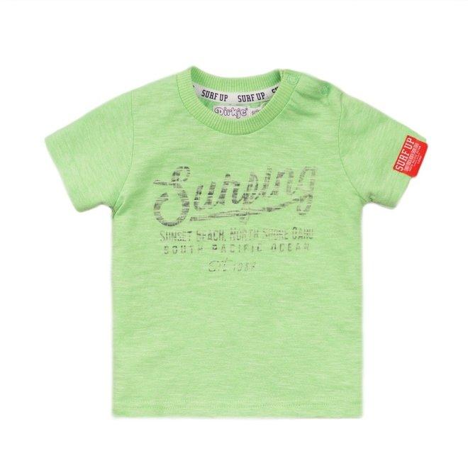 Dirkje jongens T-shirt fel groen
