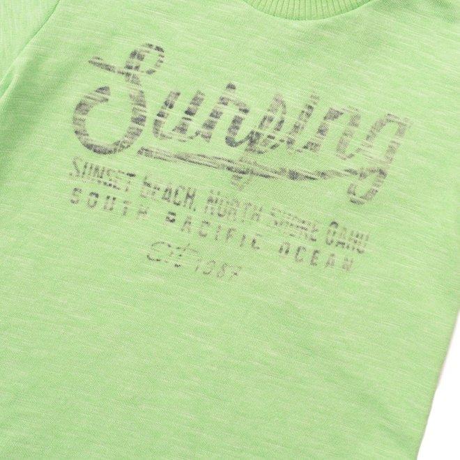 Dirkje boys T-shirt bright green