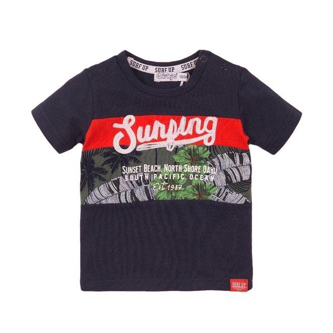 Dirkje Jungen T-shirt blau Surf