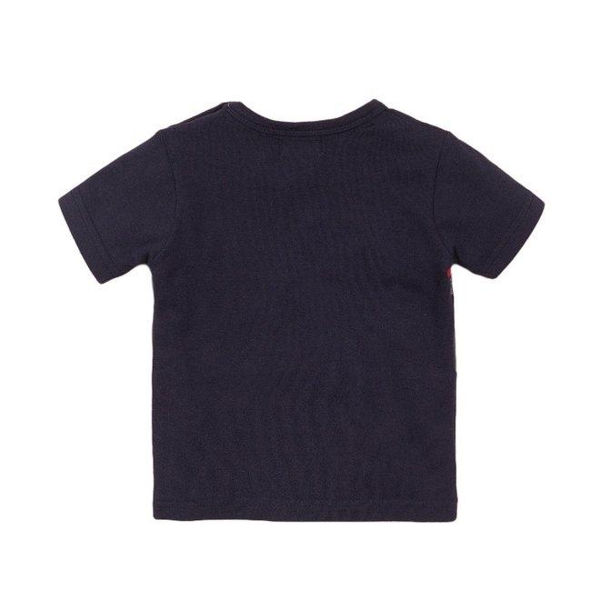 Dirkje jongens T-shirt blauw Surf