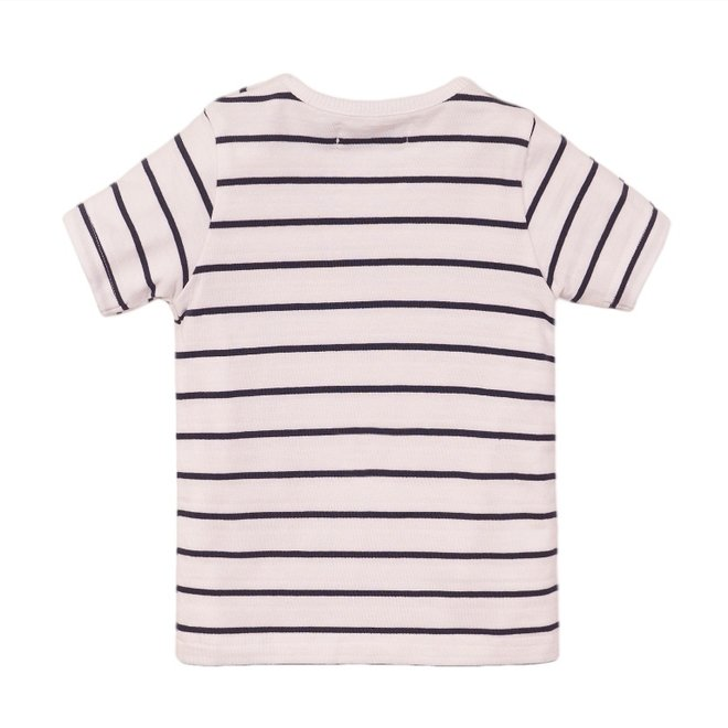 Dirkje boys T-shirt white stripe