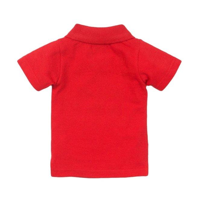 Dirkje boys polo shirt red