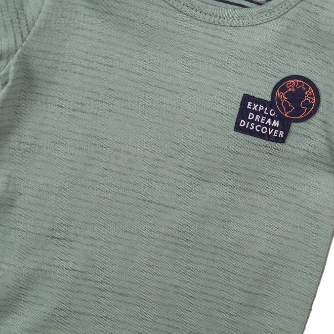 Dirkje boys T-shirt sage