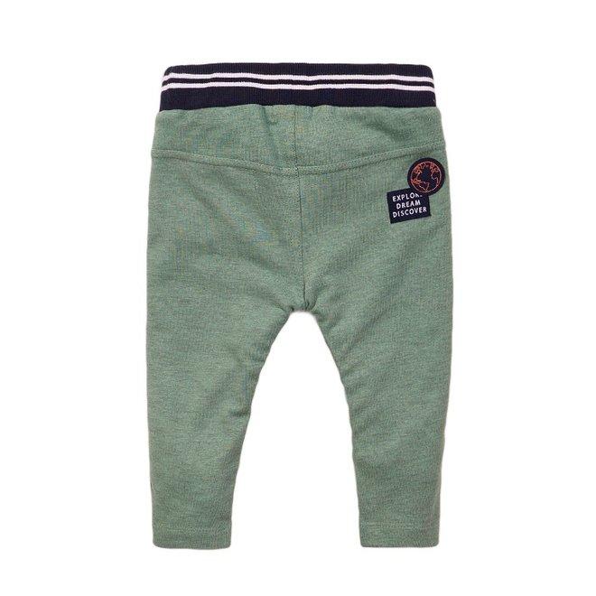 Dirkje boys jogging trousers sage green