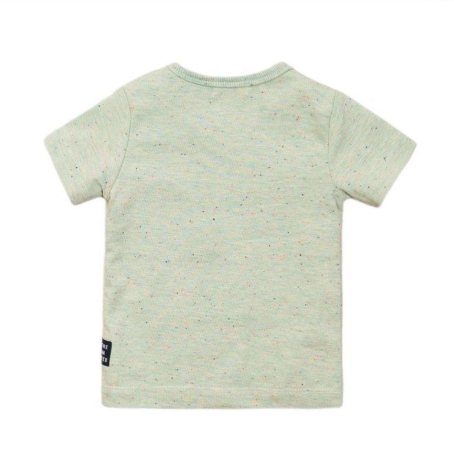 Dirkje jongens T-shirt licht groen