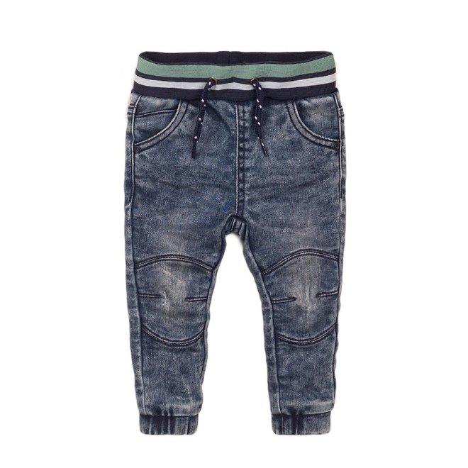 Dirkje Jungen Jeans blau mit Brett