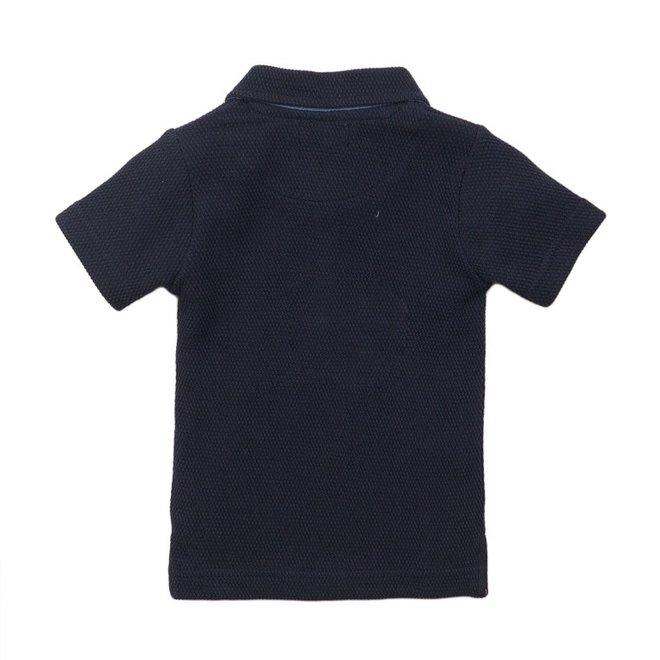 Dirkje Jungen Poloshirt blau