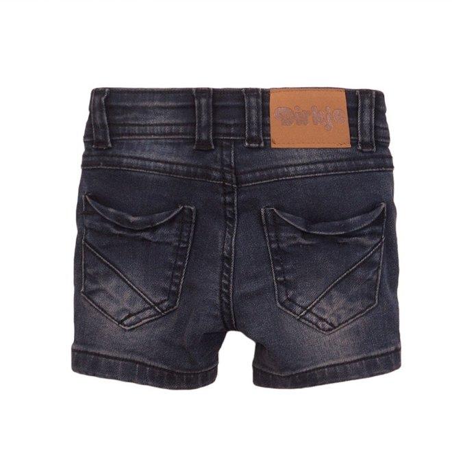 Dirkje boys jeans short dark grey