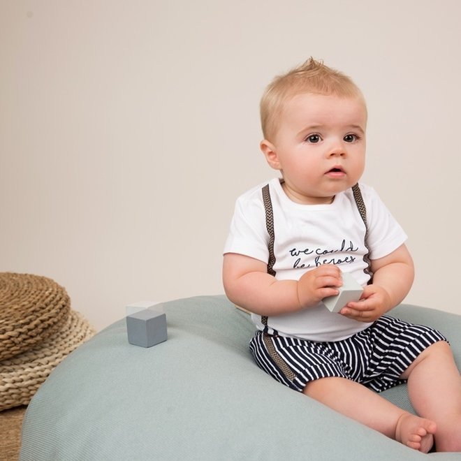 Dirkje jongens baby 2-delige set met short bretel