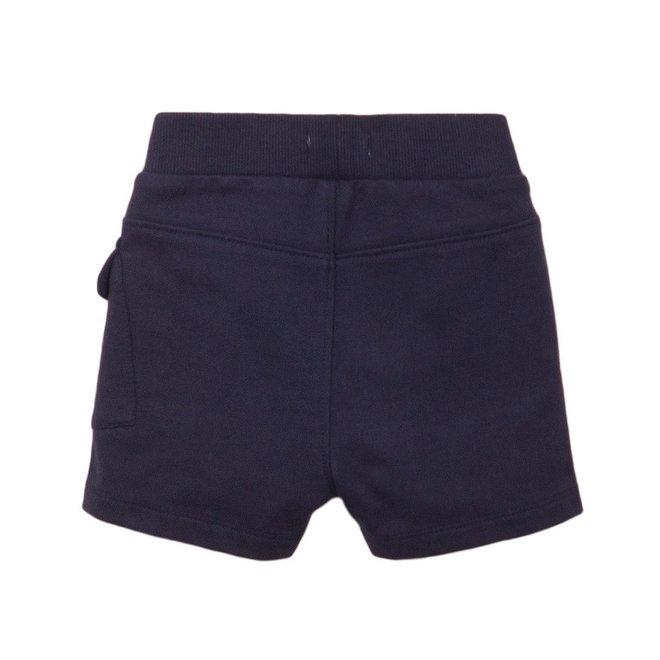 Dirkje jongens short donkerblauw