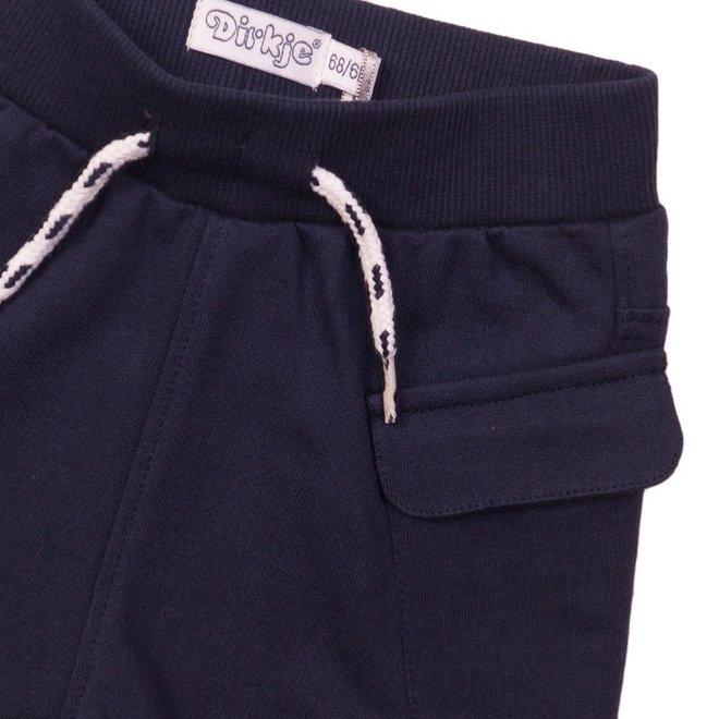 Dirkje boys shorts dark blue