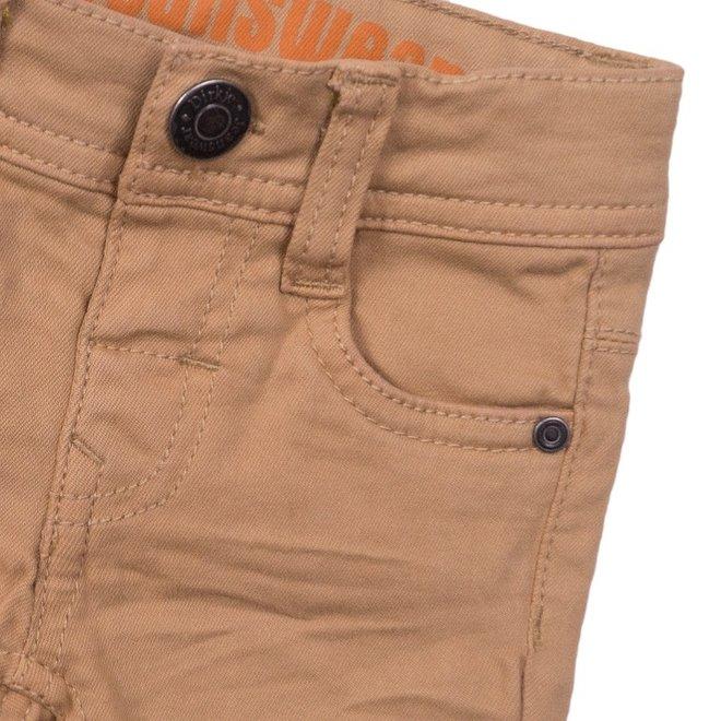 Dirkje jongens jeans short zand